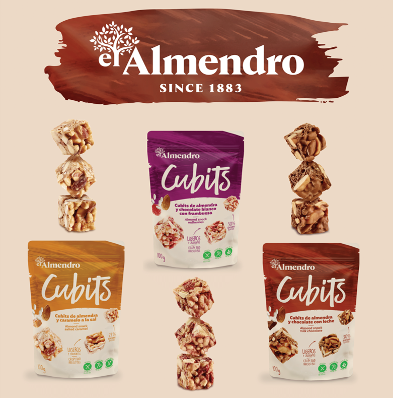 Almendro Cubits almond snacks