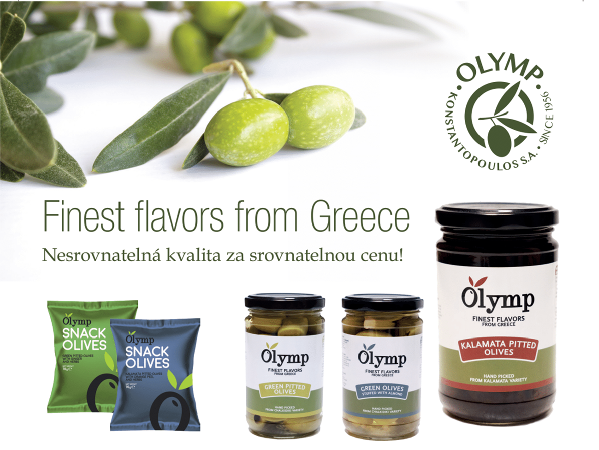 Greek olives Olymp