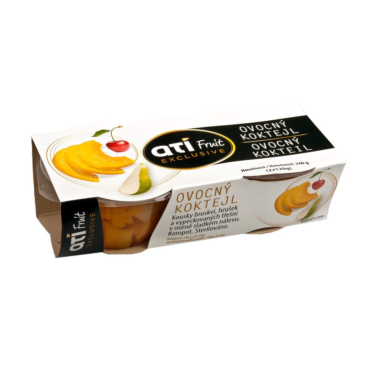 ATI Fruit Exclusive fruit cocktail 2 pack
